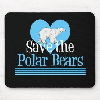 Save the Polar Bears Mouse Pads
