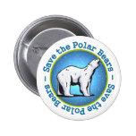 Save the Polar Bears Pin