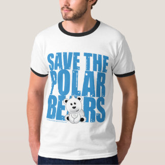 Save the Polar Bears T Shirt