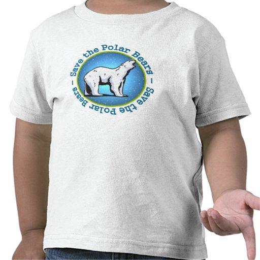 Save the Polar Bears Tee Shirts