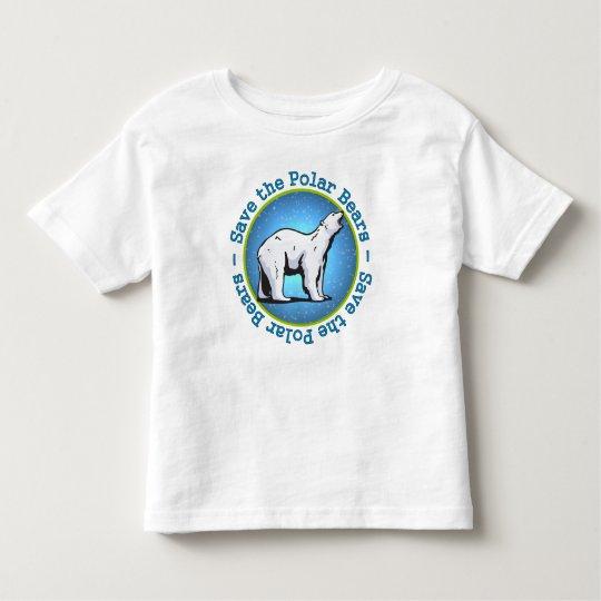 Save the Polar Bears Toddler T-shirt