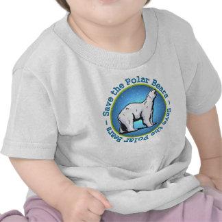 Save the Polar Bears Tshirts