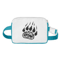 Save The Polar Bears Waist Bag