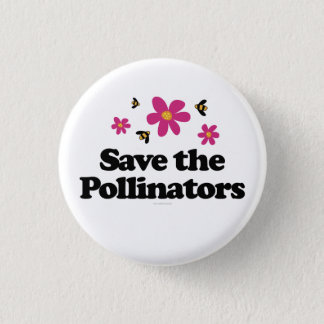 Save the Pollinators Button