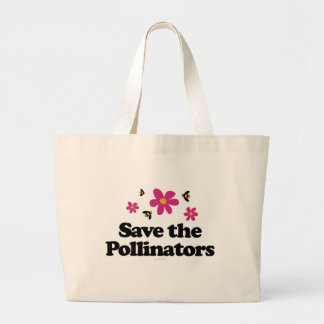 Save the Pollinators Canvas Bags