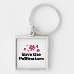 Save the Pollinators Keychain