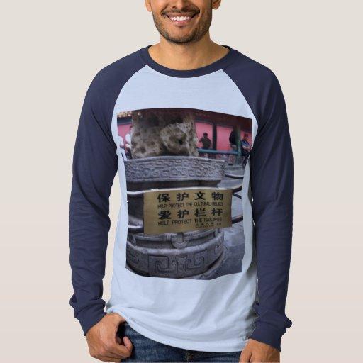 Save the Railings Raglan T Shirt Adult sz XL