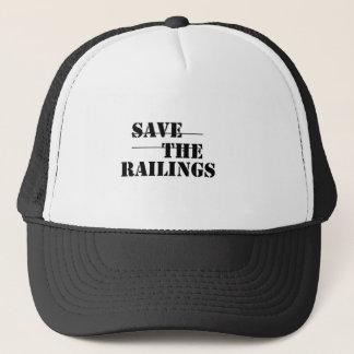 SAVE THE RAILINGS! TRUCKER HAT