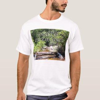 Save The Rain Forest Fine Landscape T-Shirt