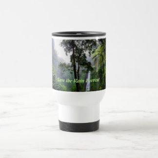 Save the Rain Forrest Travel Mug