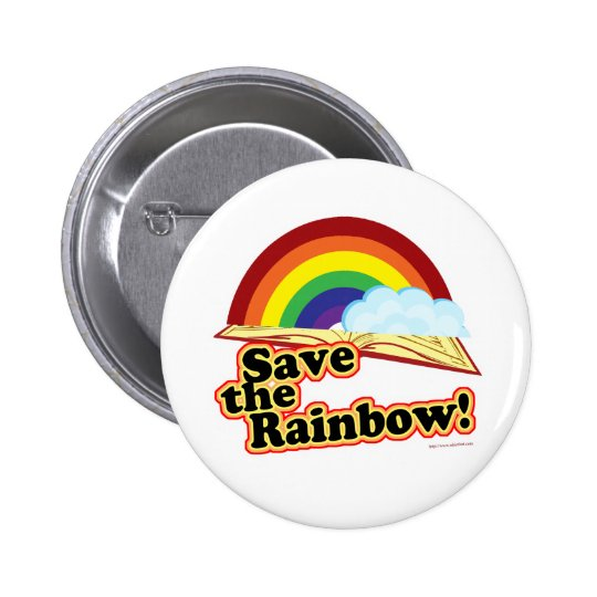 Save the Rainbow! Button
