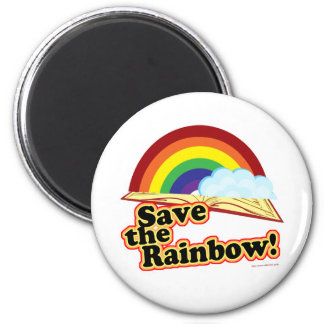 Save the Rainbow! Magnet