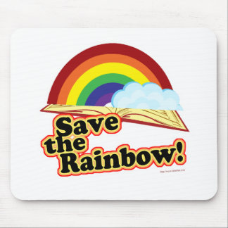 Save the Rainbow! Mouse Pad
