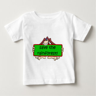save the rainforest baby T-Shirt
