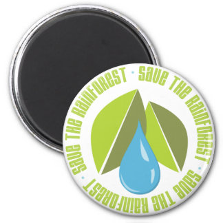 Save the Rainforest Earth Day Tees and Gifts Magnet