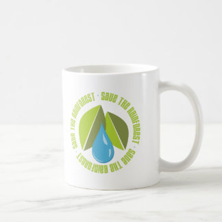 Save the Rainforest Earth Day Tees and Gifts Coffee Mug