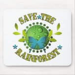 Save the Rainforest Mouse Mats