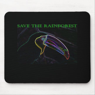 Save the Rainforest Mousepad Toucan