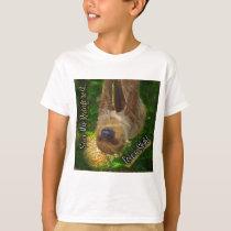 Save the Rainforest Sloth Shirts