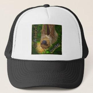 Save the Rainforest Sloth Shirts Trucker Hat