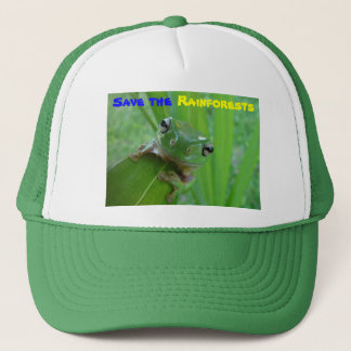 save the rainforests hat
