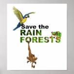 Save the Rainforests Print
