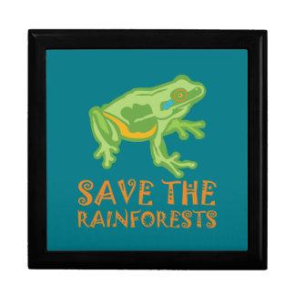 save-the-rainforests Tree Frog Keepsake Box