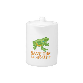 save-the-rainforests Tree Frog Teapot