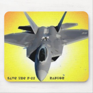 SAVE THE RAPTOR MOUSE PAD