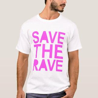 SAVE THE RAVE purple T-Shirt