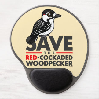 Save the Red-cockaded Woodpecker Gel Mouse Pad