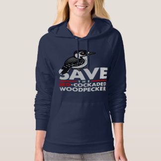 Save the Red-cockaded Woodpecker Hoodie