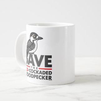 Save the Red-cockaded Woodpecker Large Coffee Mug