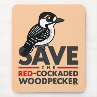 Save the Red-cockaded Woodpecker Mouse Pad