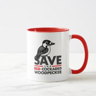 Save the Red-cockaded Woodpecker Mug