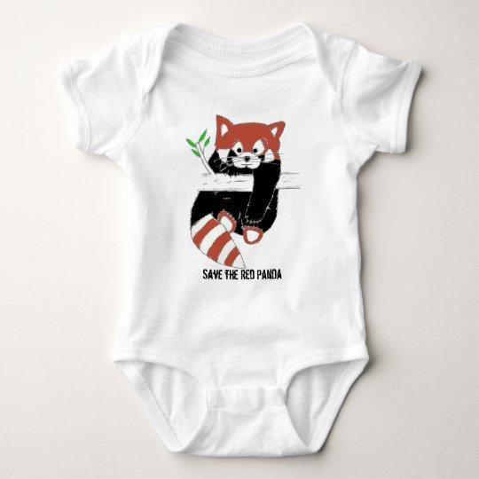 Save the Red Panda aka FireFox Baby Bodysuit