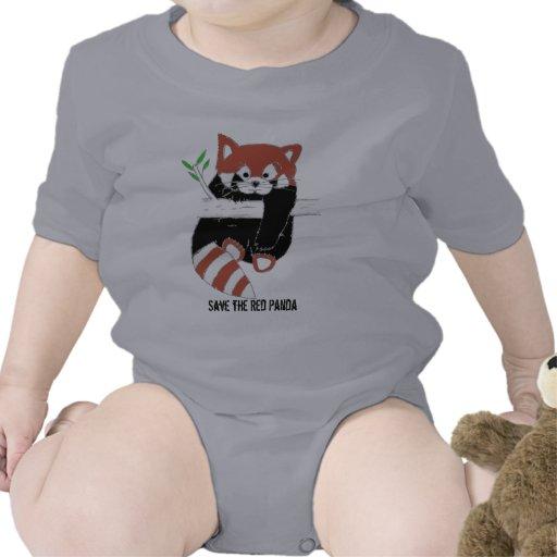 Save the Red Panda aka FireFox Baby Bodysuits