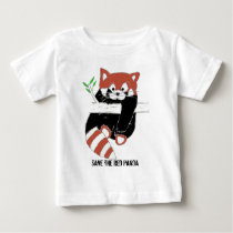 Save the Red Panda aka FireFox Baby T-Shirt