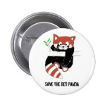 Save the Red Panda aka FireFox Button