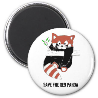 Save the Red Panda aka FireFox Fridge Magnets