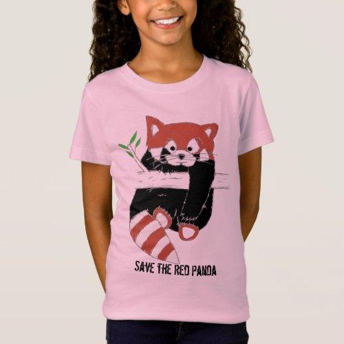 Save the Red Panda aka FireFox Shirts