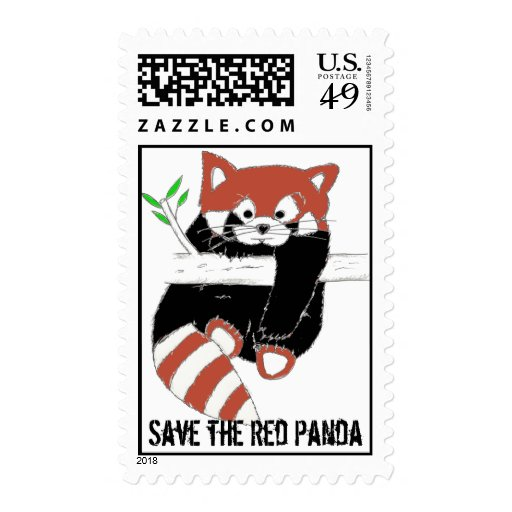 Save the Red Panda aka Firefox Stamps