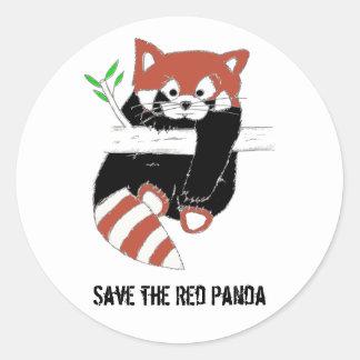 Save the Red Panda aka FireFox Stickers