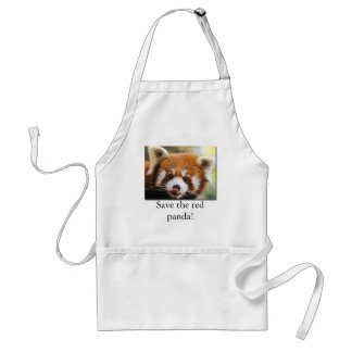 Save the red panda! Apron