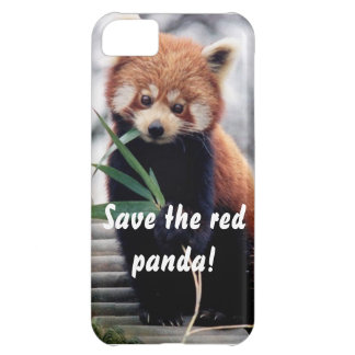 Save the Red Panda iPhone Case Case For iPhone 5C