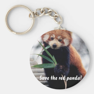 Save the Red Panda Key Chains