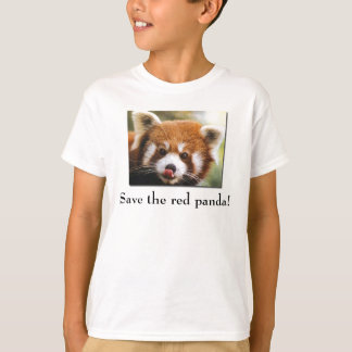 Save the Red Panda Kid's T-Shirt