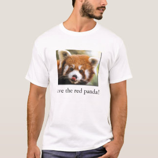 Save the red panda! Organic Kid's T-Shirt