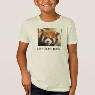 Save the red panda! Organic Kid's T-Shirt Jr.