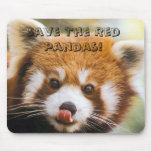 Save The Red Pandas! Mouse Mats